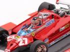 G. Villeneuve Ferrari 126CK #27 vincitore Monaco GP F1 1981 40 ° Anniversario 1:43 Brumm