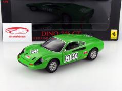 Ferrari Dino 246 GT 1000km Nuerburgring 1971 1:18 HW