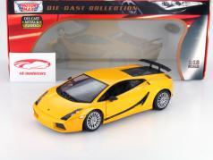 Lamborghini Gallardo Superleggera amarillo metálico 1:18 MotorMax