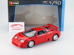 Bugatti EB 110 Baujahr 1990 rot 1:18 Bburago