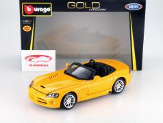 Dodge Viper SRT-10 Year 1995 yellow 1:18 Bburago