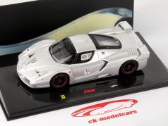 Ferrari FXX #16 Nürburgring silver 1:43 HotWheels Elite