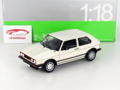 Volkswagen VW Golf I GTI hvid 1:18 Welly