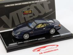 Aston Martin DB7 Vantage Año 1992 mendip azul 1:43 Vitesse