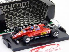 P.Tambay Ferrari 126C2 Turbo GP Italia 1982 1:43 Brumm