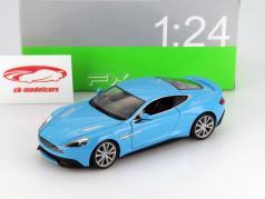 Aston Martin Vanquish light blue 1:24 Welly