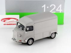 Citroen Type H year 1962 silver 1:24 Welly
