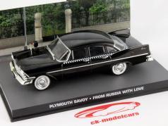 Plymouth Savoy James Bond Film Auto Da Russia con amore nero 1:43 Ixo