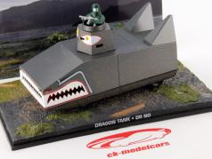Dragon Tank James Bond Movie Car Dr No 1:43 Ixo
