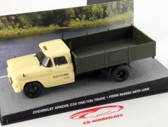 Cevrolet Apache C30 one-ton Truck James Bond Movie Car From Russia with love beige 1:43 Ixo
