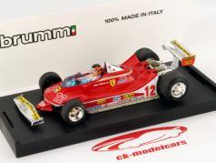 G. Villeneuve Ferrari 312 T4 #12 2nd GP France Formula 1 1979 1:43 Brumm