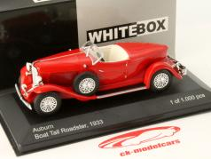 Auburn Boat Tail Roadster Baujahr 1933 rot 1:43 WhiteBox