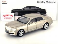 Bentley Mulsanne pearl silver 1:18 Rastar