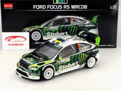 Ford Focus RS WRC08 #6 Rali Bulgária 2010 Andersson / Andersson 1:18 SunStar
