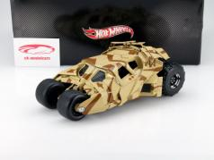 Tumbler Batman The Dark Knight Rises Film Auto 2012 camouflage 1:18 HotWheels