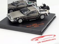 DeLorean DMC-12 Back to the Future Movie Car Part II 1:43 Vitesse