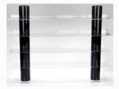 Hængende Board Top Udsigt med sort Kolonner SAFE