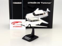 Citroen DS Fantomas Volante weiß 1:43 Norev PM