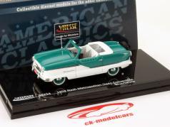 Nash Metropolitan Open Convertible Année 1959 bleu / blanc 1:43 Vitesse