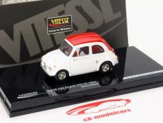 Fiat Abarth 595 SS Año 1964 blanco / rojo 1:43 Vitesse