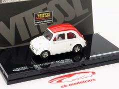 Fiat Abarth 595 SS Baujahr 1964 white / red 1:43 Vitesse
