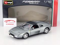 Ferrari 348ts argento 1:18 Bburago