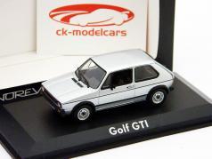 Volkswagen VW Golf GTI Baujahr 1976 silber 1:43 Norev
