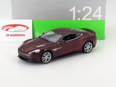 Aston Martin Vanquish bronze metallic 1:24 Welly