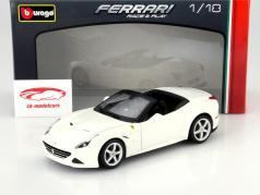 Ferrari California T open Year 2014 white 1:18 Bburago