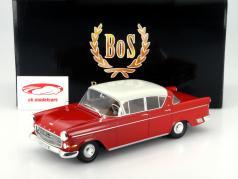 Opel Käpitan P 2.5 rot / weiß 1:18 BoS-Models