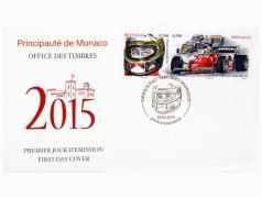 Envelope: Special Edition 2015 Monaco Formula 1 Michele Alboreto