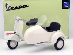 Piaggio Vespa 150 VL 1T met zijspan Jaar 1955 cream 1: 6 NewRay