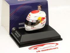 S. Vettel Red Bull GP Suzuka Formule 1 Champion Du Monde 2010 Casque 1:8 Minichamps