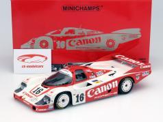 Porsche 956L Rollei #47 24h LeMans 1984 Laessig //fouche //graham 1:18 Minichamps