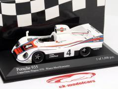 Porsche 935 #4 Gagnant Copa Florio Fergusa 1976 Mass / Stommelen 1:43 Minichamps