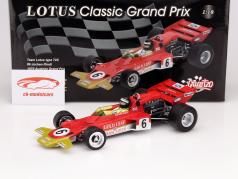 J. Rindt Lotus Typ 72C #6 Autriche GP Formule 1 1970 1:18 Quartzo