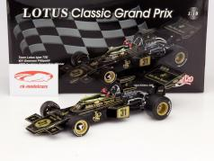 E. Fittipaldi Lotus Typ 72D #31 Campeón del Mundo Austria GP F1 1972 1:18 Quartzo