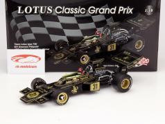 E. Fittipaldi Lotus Typ 72D #31 Wereldkampioen Oostenrijk GP F1 1972 1:18 Quartzo