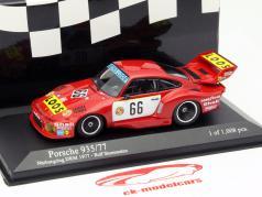 Porsche 935/77 #66 Gagnant DRM Nürburgring 1977 Stommelen 1:43 Minichamps