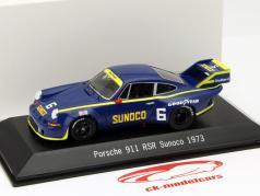 Porsche 911 RSR #6 Daytona 1973 Sunoco 1:43 Spark