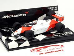 John Watson McLaren MP4/1C #7 Gagnant USA West GP Formule 1 1983 1:43 Minichamps