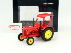 Hanomag R35 traktor Opførselsår 1953 rød 1:18 Minichamps