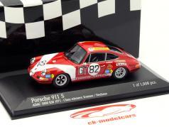 Porsche 911 S #82 Classe Gagnant ADAC 1000 km 1971 1:43 Minichamps
