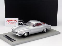 Alfa Romeo Giulia SS 1600 Baujahr 1963 silber / rotes Interieur 1:18 Tecnomodel