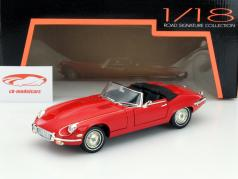Jaguar E-Type Year 1971 red 1:18 Lucky DieCast
