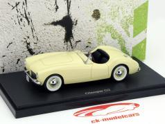 Glasspar G2 Year 1952 ivory 1:43 AutoCult