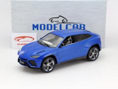 Lamborghini Urus blau metallic 1:18 Model Car Group