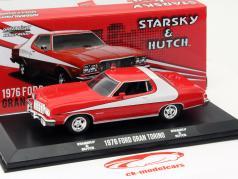 Ford Gran Torino TV-Serie Starsky and Hutch 1975-79 vermelho / branco 1:43 Greenlight