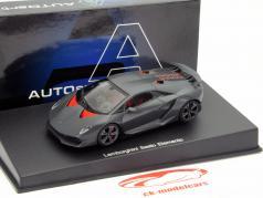 Lamborghini Sesto Elemento Anno 2010 Carbonio / grigio 1:43 AUTOart