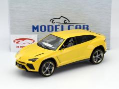 Lamborghini Urus gelb metallic 1:18 Model Car Group